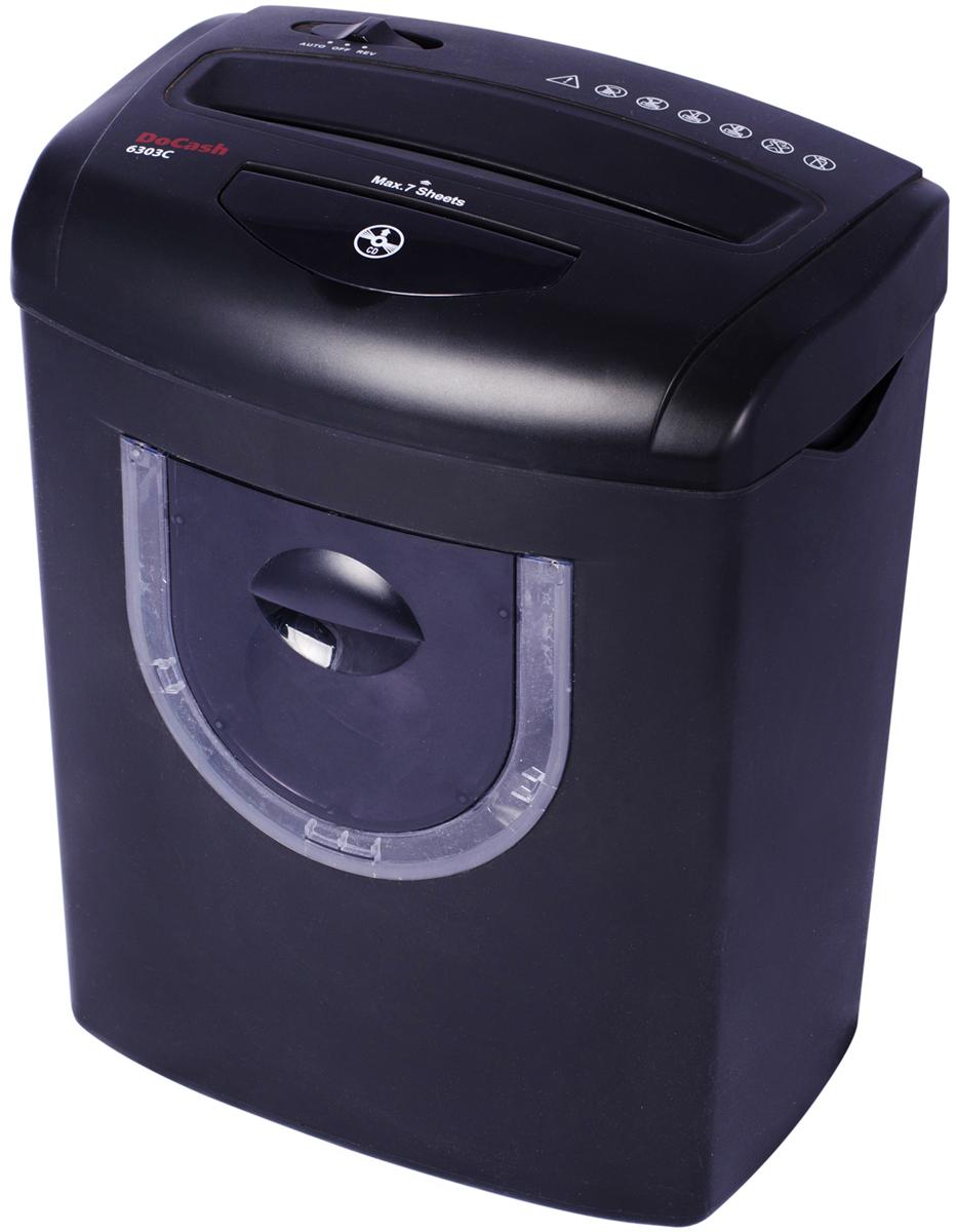 DoCash 6303 C (6590) - шредер (Black)