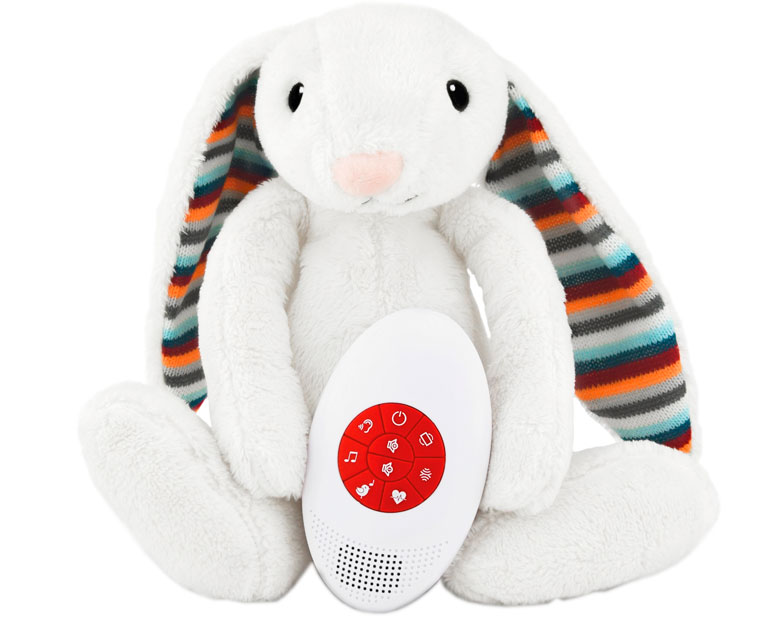 Игрушка-комфортер Zazu Кролик Биби (ZA-BIBI-01)