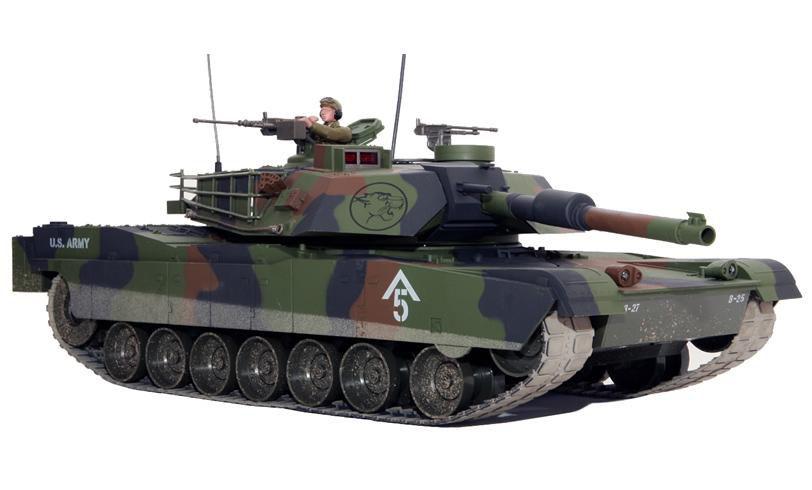 Hobby Engine М1А1 IR - радиоуправляемый танк (Green)