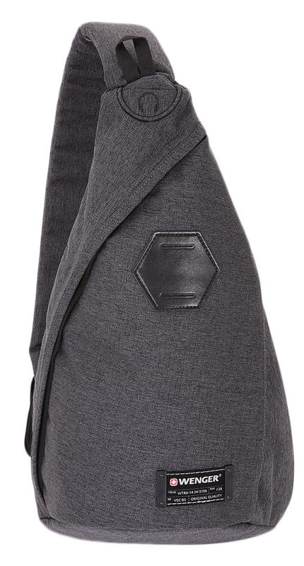 Wenger 7 л (2607424550) - рюкзак на одно плечо (Grey)