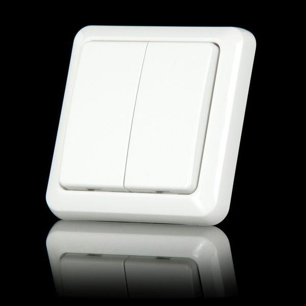 COCO AWST-8802 - беспроводной настенный выключатель (двухклавишный)