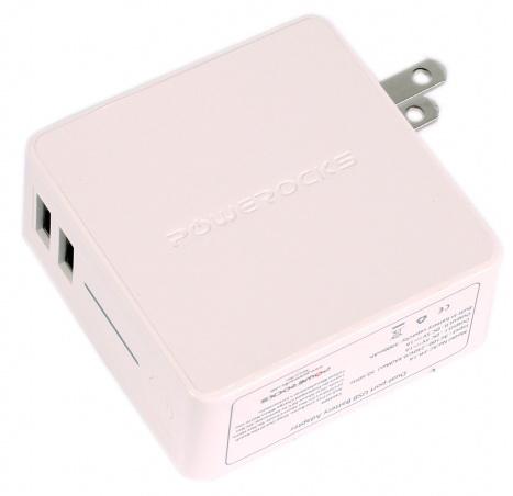 Powerocks Tetris (AC-PR-1A) -зарядное устройство для iPhone/iPod/iPad (White)