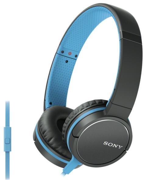 Sony MDR-ZX660AP ZX line - накладные наушники (Blue)