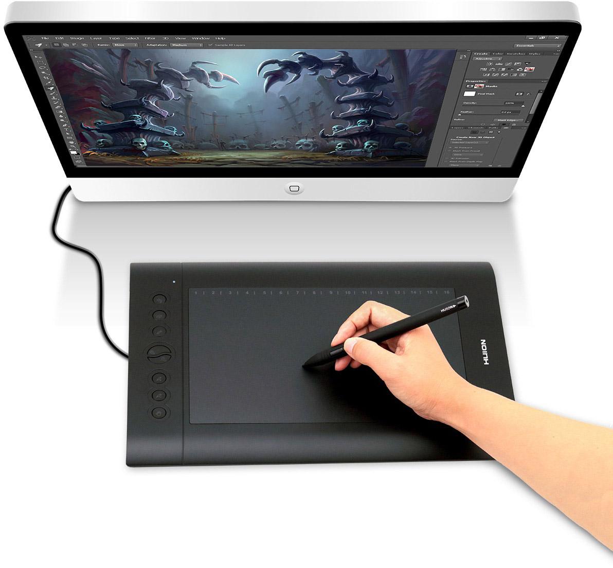 Графические планшеты для фотографа