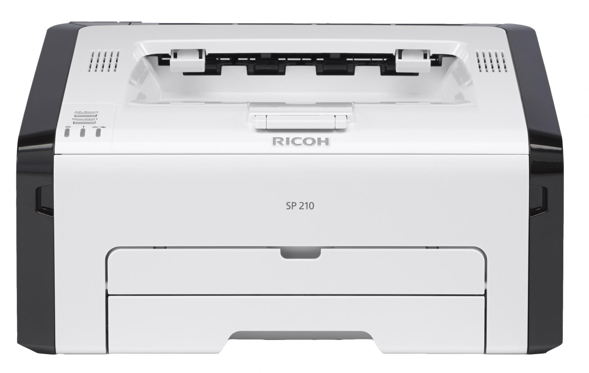 Ricoh SP 210 - лазерный принтерЛазерные принтеры<br>Лазерный принтер<br>