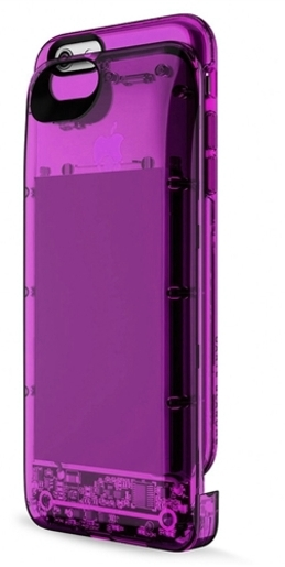 Boostcase Hybrid Power Case 2700 мАч (BCH2700IP6-SPH) - чехол-аккумулятор для iPhone 6/6s (Clear Purple)