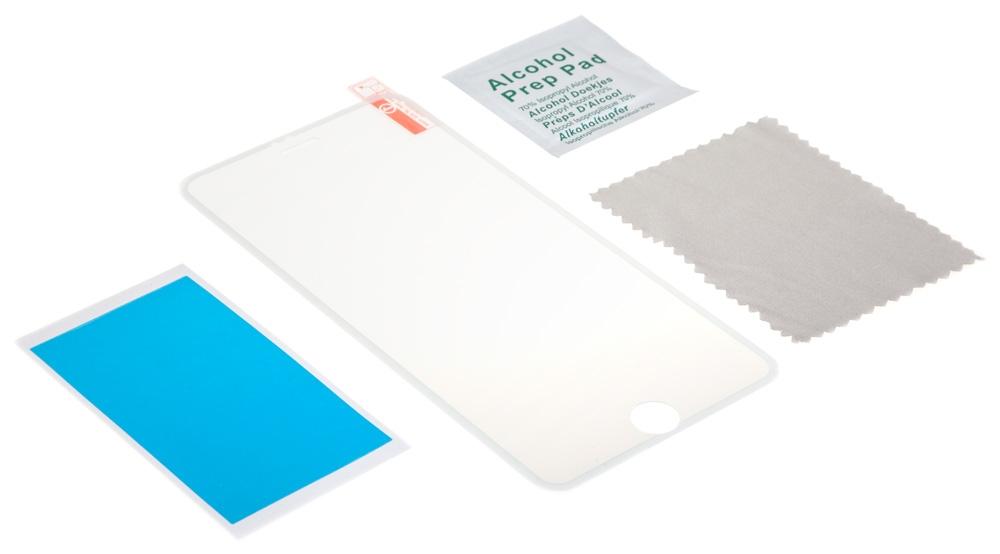 Premium Tempered Glass Screen Protector Color - защитное стекло с тонкой окантовкой для iPhone 6 Plus (White)