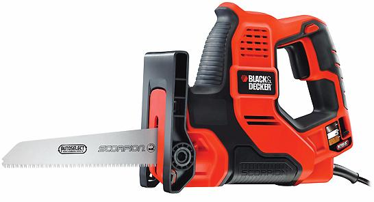 Black+Decker (RS890K) - пила сабельная