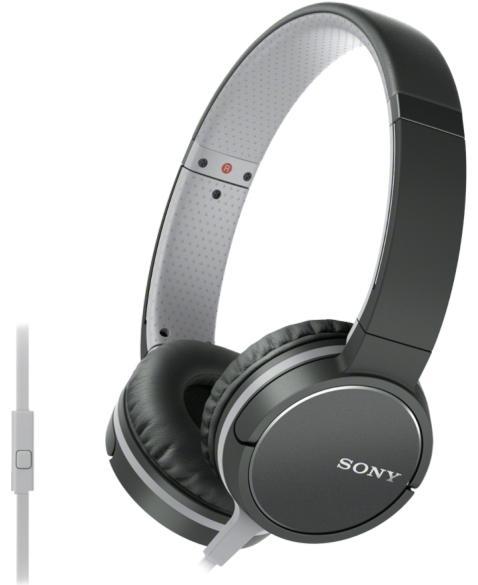 Sony MDR-ZX660AP ZX line - накладные наушники (Black)