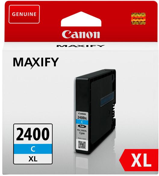 Canon PGI-2400XL (9274B001) - картридж для принтеров Canon Maxify MB5040/MB5340/IB4040 (Cyan)