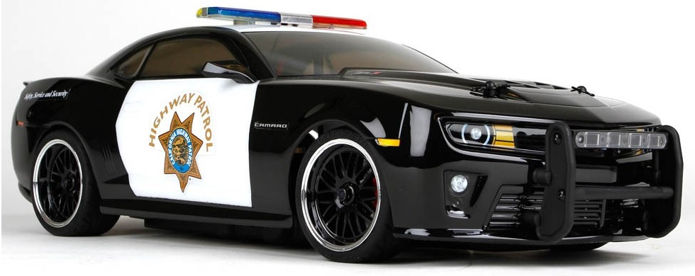 Vaterra 1:10 2012 CHP Chevrolet Camaro ZL-1 V100-S 4WD - радиоуправляемый автомобиль (Police)