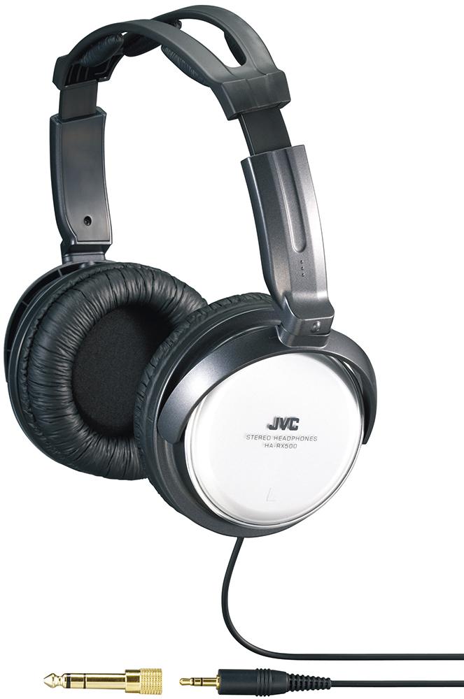 JVC HA-RX500 - полноразмерные наушники (Black/White)Полноразмерные наушники<br>Полноразмерные наушники<br>