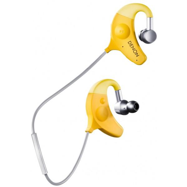 Denon AH-W150 - внутриканальные наушники c микрофоном (Yellow)
