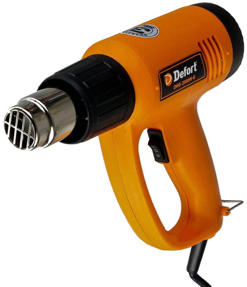 Defort DHG-2000N-K (93720490) - технический фен (Orange) от iCover