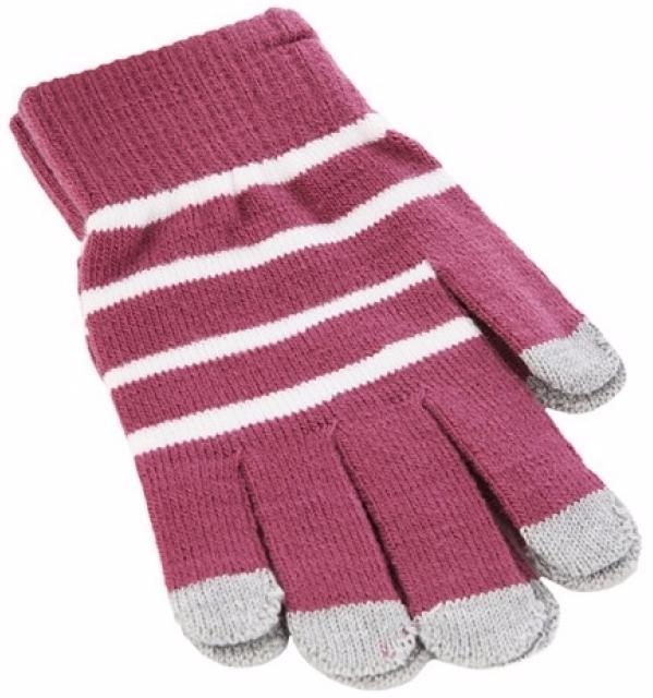 iCasemore Gloves (iCM_WhS-prp) - трикотажные перчатки (Purple) icasemore gloves icm smp blk кашемировые перчатки black