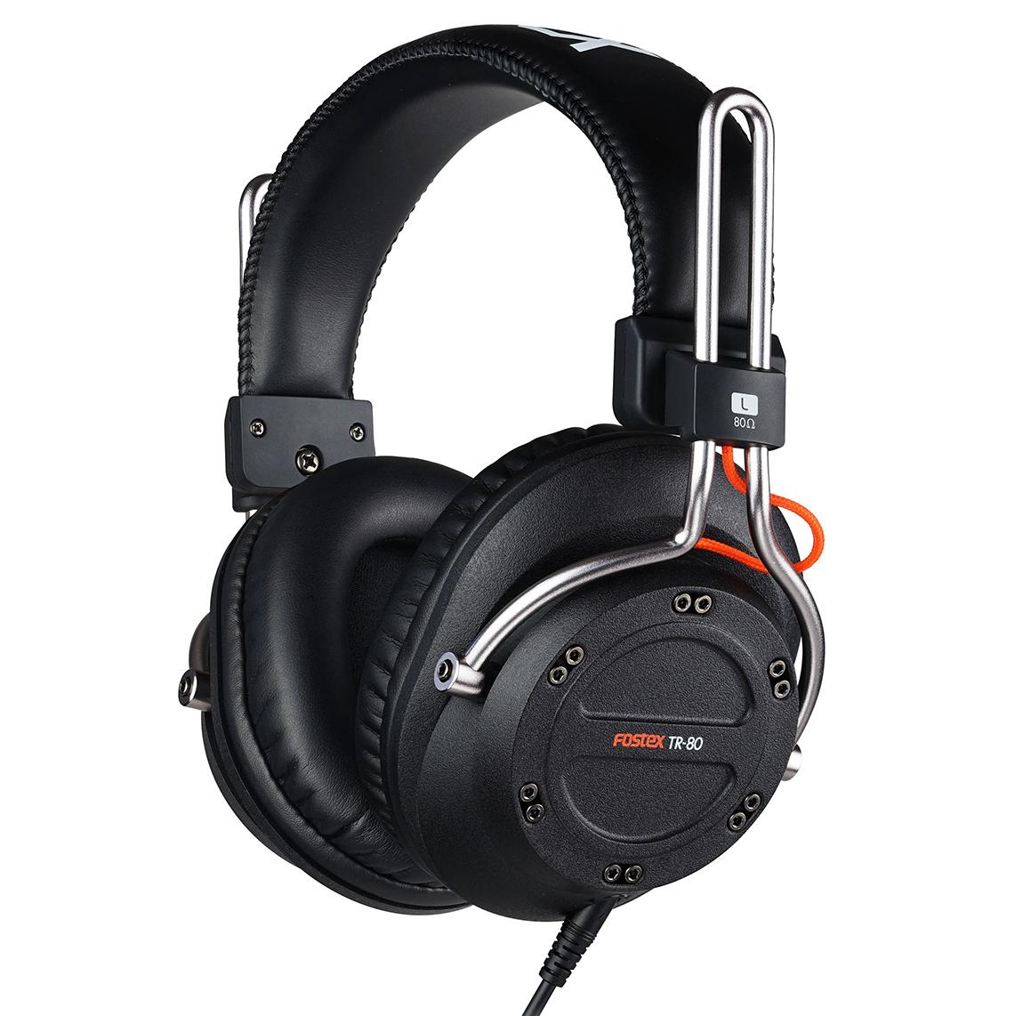 Fostex TR-80 250 Ом - полноразмерные наушники (Black)