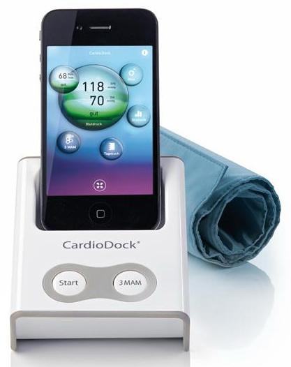 Medisana CardioDock - тонометр электронный индивидуальный для iPhone/iPad