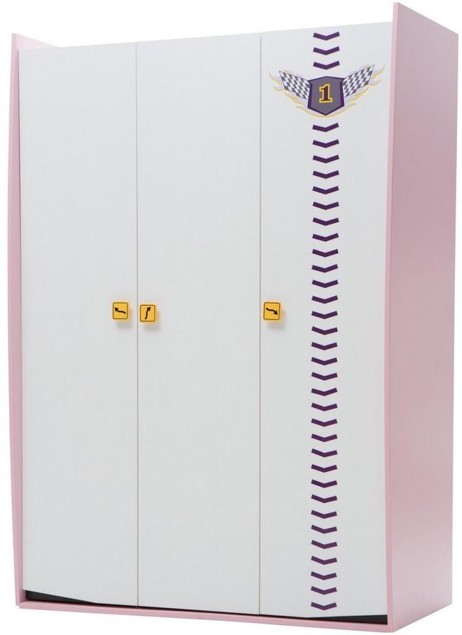 Vento PinkТрехдверные шкафы<br>Шкаф 3-х дверный<br>