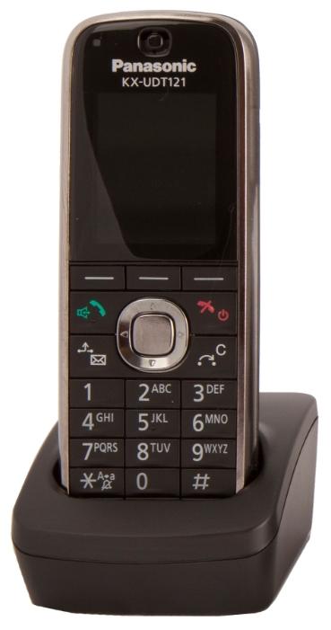 Panasonic KX-UDT121RU - SIP-DECT-телефон (Black)