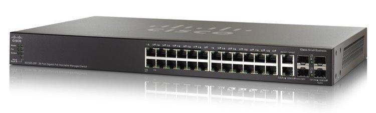28-port Gigabit POE SwitchКоммутаторы<br>Стекируемый управляемый коммутатор<br>