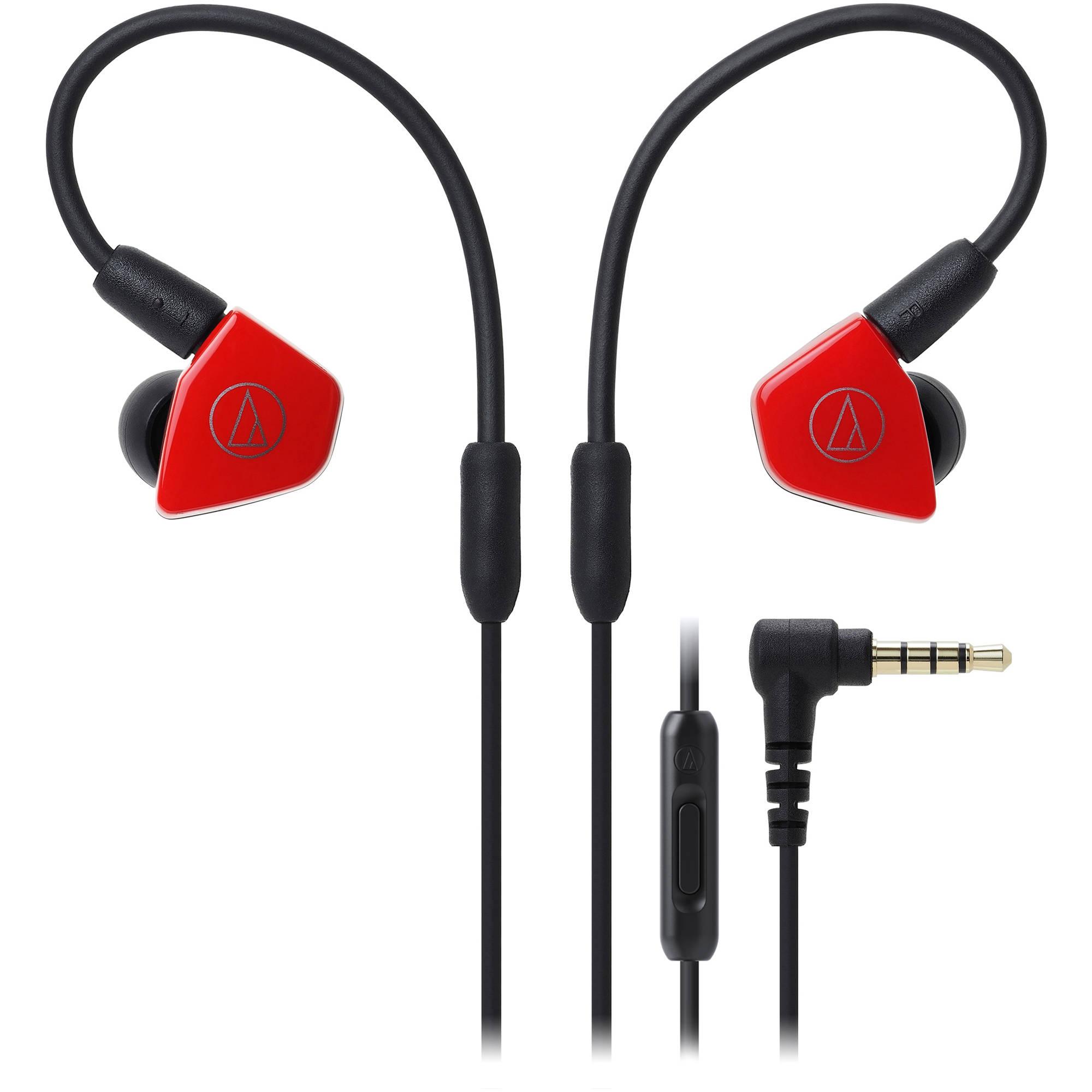 все цены на  Audio-Technica ATH-LS50iS (15119537) - внутриканальные наушники (Red)  онлайн