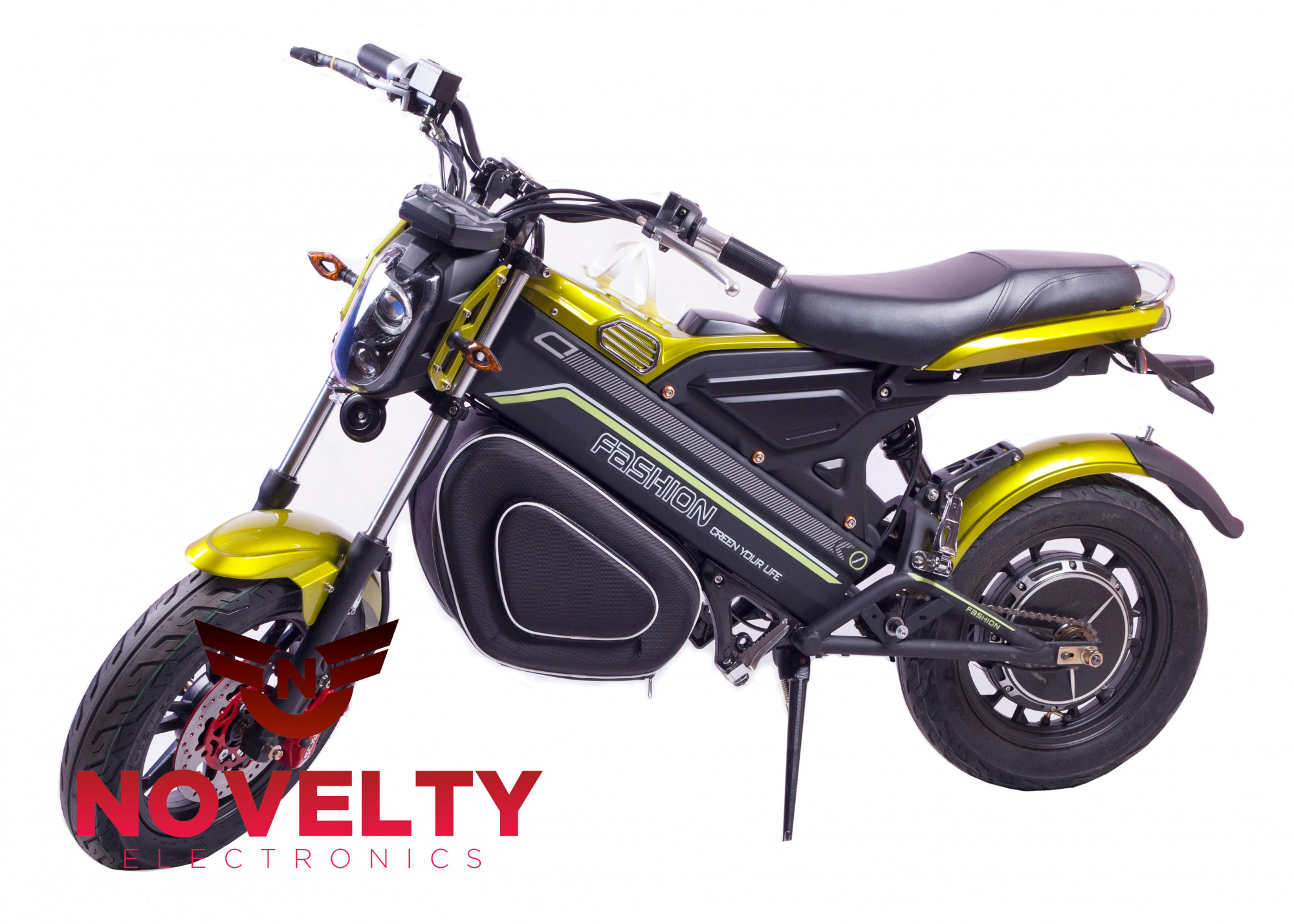 Минимотоцикл Novelty Electronics Bike (Black)