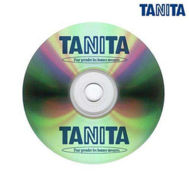 Tanita GMON COS std - CD-диск с программным обеспечением (Silver)