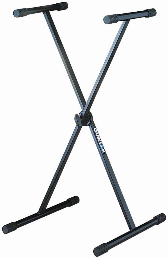 Quik Lok T10 BK (19750) - крестообразная стойка для клавишных инструментов (Black)
