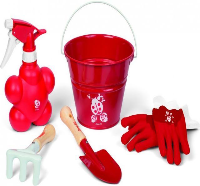 Janod Маленький садовник (J03236) - игровой набор (Red)