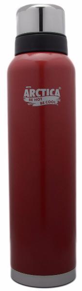 Арктика 1,6 л (106-1600) - термос с узким горлом американский дизайн (Красный)