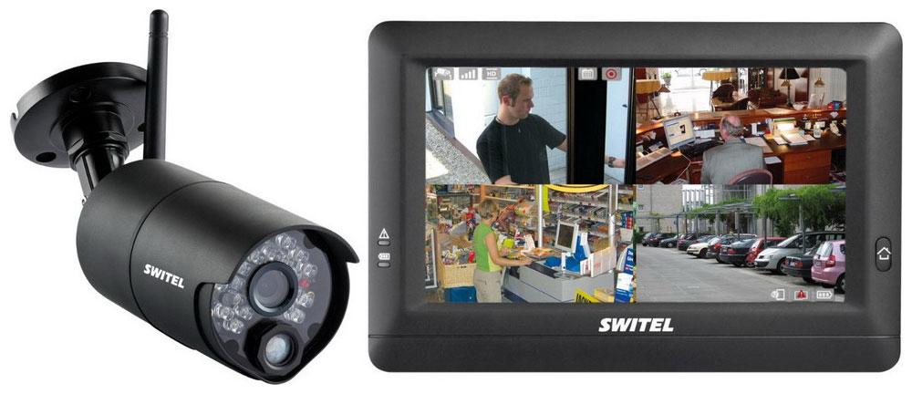 Switel HSIP 5000 - беспроводная система видеонаблюдения HSIP5000