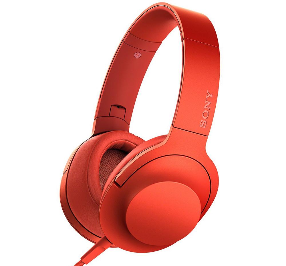 Sony MDR-100AAP - полноразмерные наушники (Red)