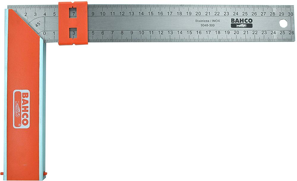 Bahco 9048-300 - угольник 30 см (Orange/Metallic)