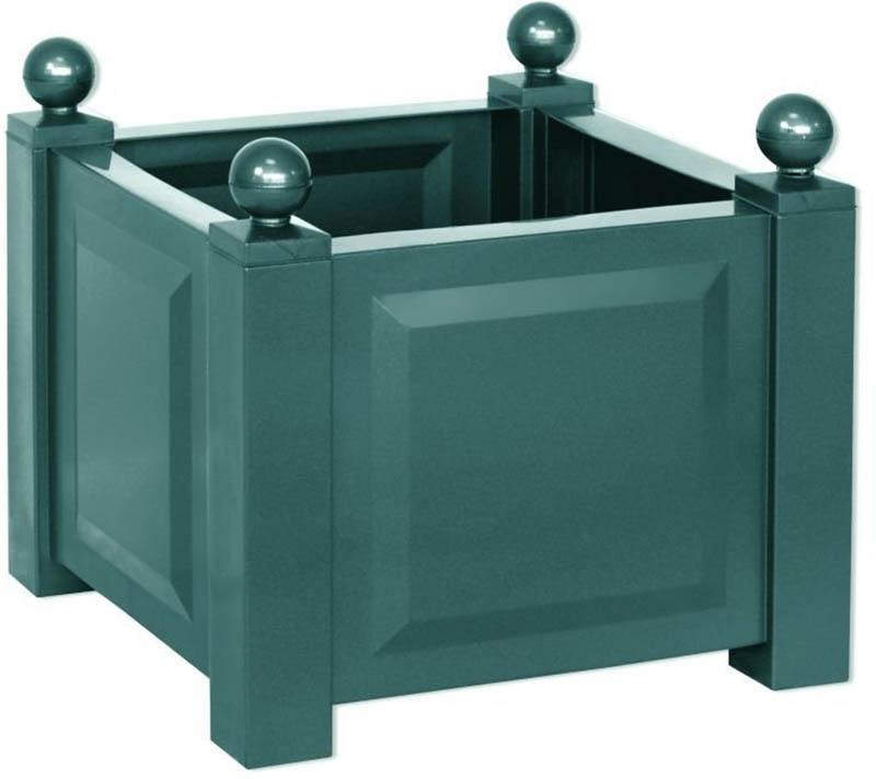 KHW 38003 - квадратный ящик для растений (Green)