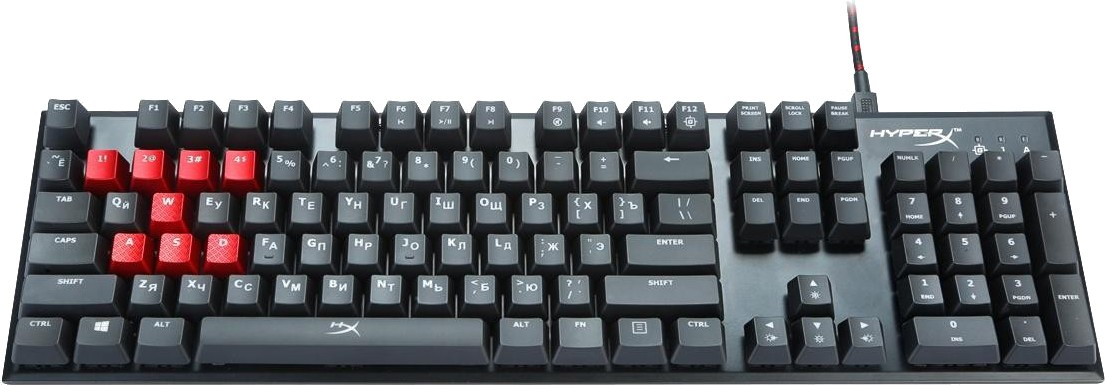 Игровая клавиатура Kingston HyperX Alloy FPS Cherry MX HX-KB1BR1-RU/A5 (Black)