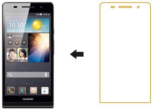 GlossyЗащитные пленки для смартфонов Huawei<br>Защитная пленка<br>