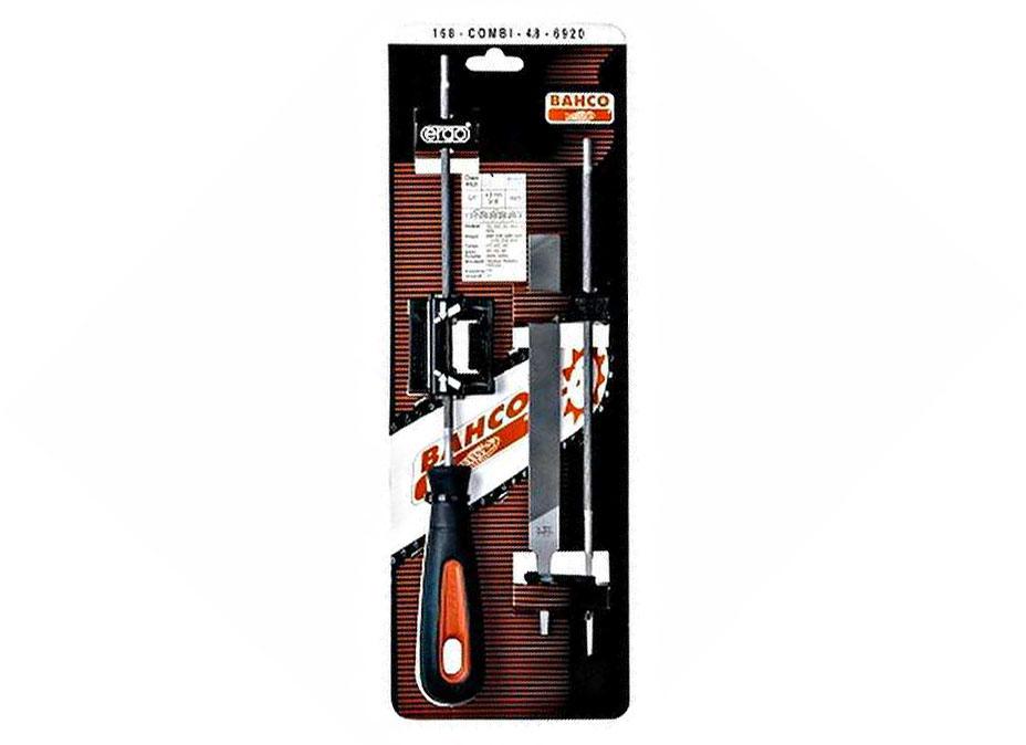 Bahco 168-COMBI-5.5-6924 - набор напильников для цепей с направляющей