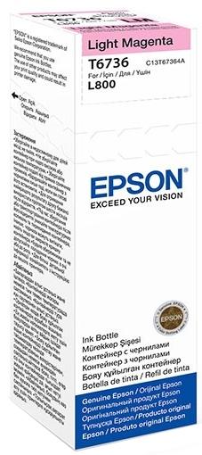 Epson T6733 (C13T67364A) - чернила для принтеров Epson L1800, L800 (Light magenta)
