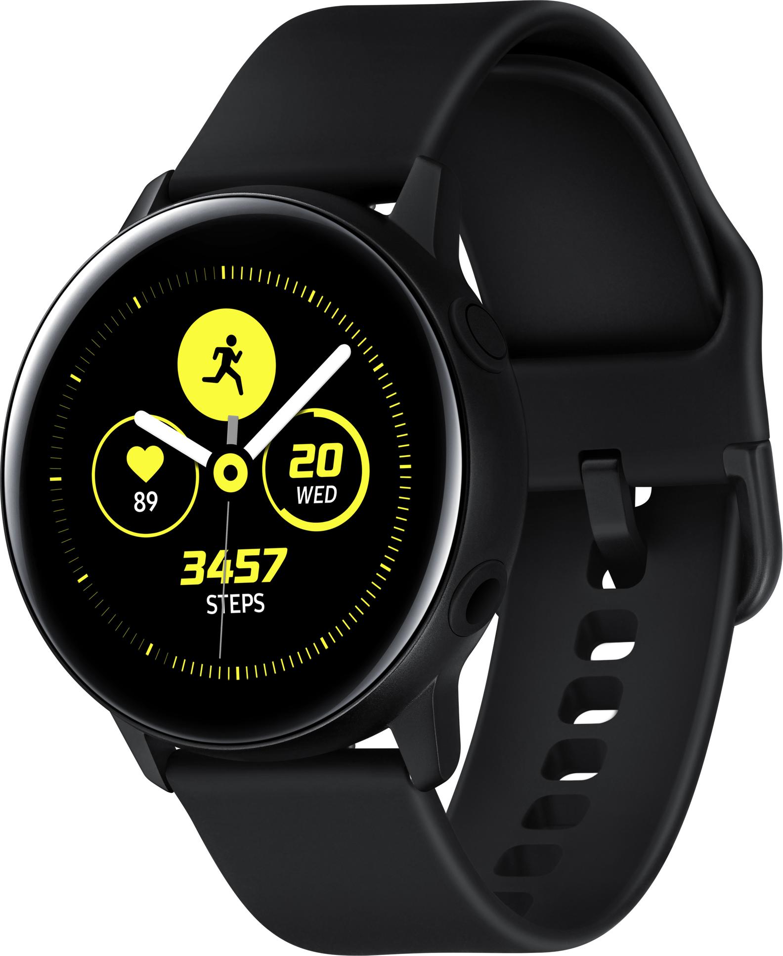 3a6837f8 Купить умные часы Samsung Galaxy Watch Active SM-R500NZKASER (Black) в  Москве в каталоге прочих умных часов с доставкой.