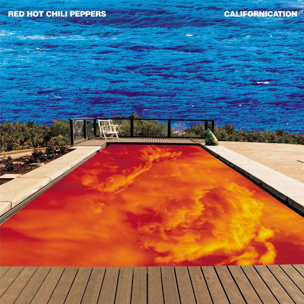 Red hot chili peppers californication made germany