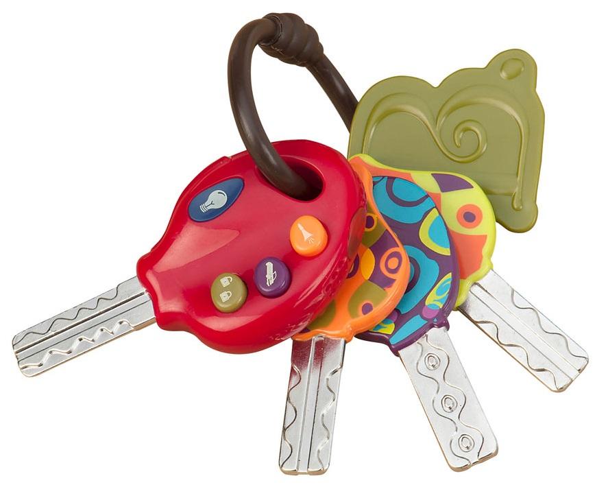 Battat B. Dot 68682 - Набор электроных ключиковРазвивающие игрушки<br>Набор электроных ключиков<br>