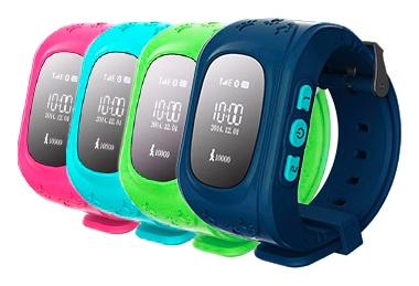 Детские часы-телефон с GPS-геолокацией Кнопка жизни К911 (Dark Blue)