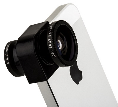 Photo lens 3-in-one 2x angle - �������� ��� iPhone 5/5S n/d