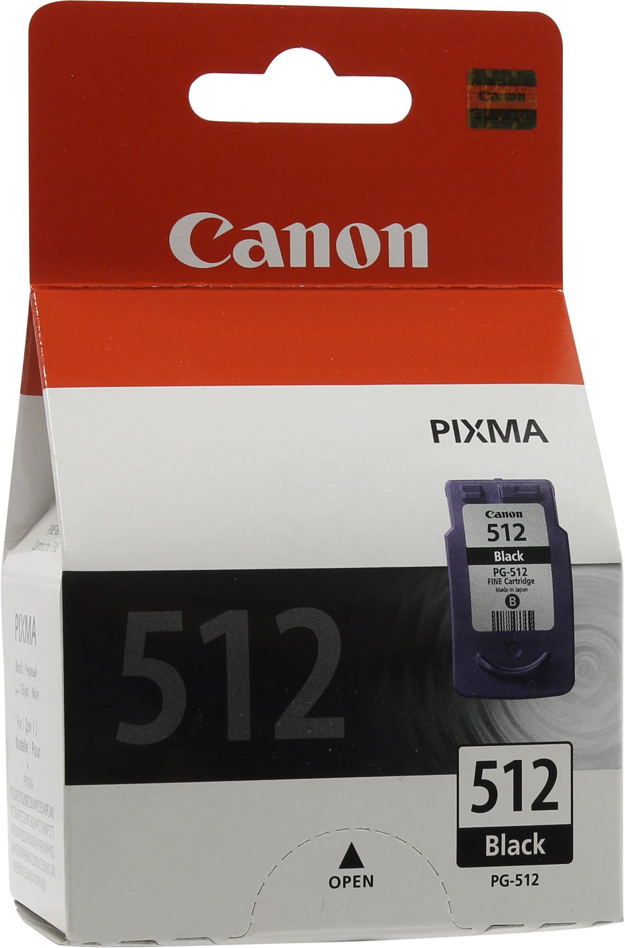 Canon PG-512 (2969B007) - картридж для Canon PIXMA MP240/250/260/480 (Black)