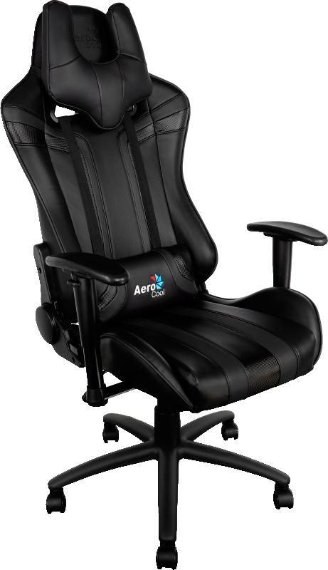 Кресло игровое Aerocool AC120 (Black)