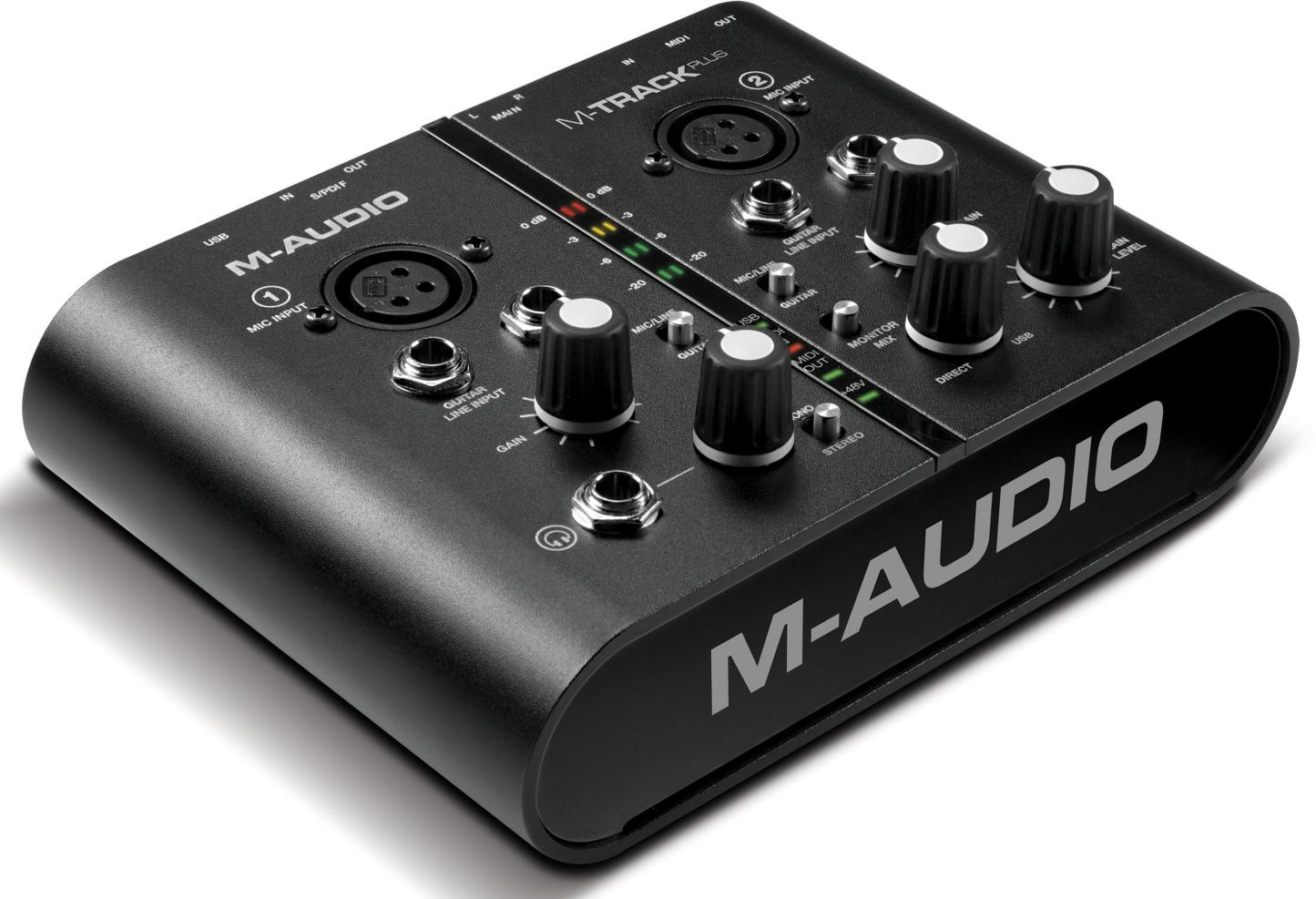 M-Audio MTrack Plus Mic Kit