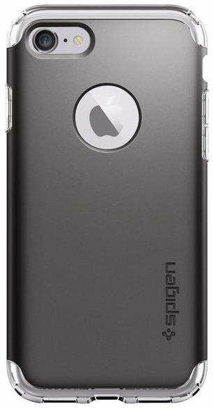 Spigen Hybrid Armor (042CS20693) - чехол для iPhone 7 (Gunmetal) spigen hybrid armor 042cs20840 чехол для iphone 7 black onix