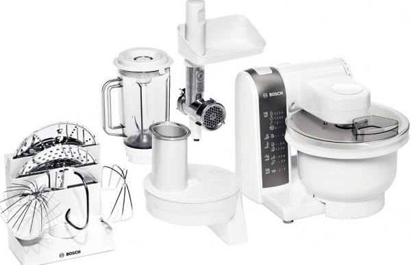 Bosch MUM 4855 - кухонный комбайн (White)