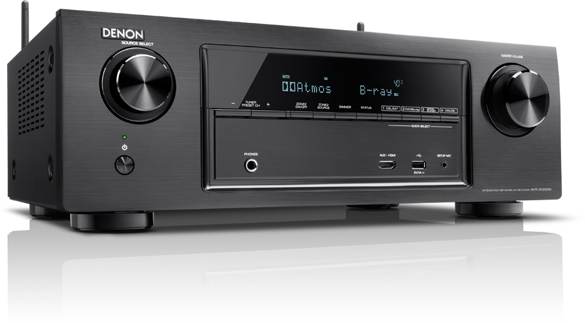 Denon AVR-X1300W - AV-ресивер (Black)