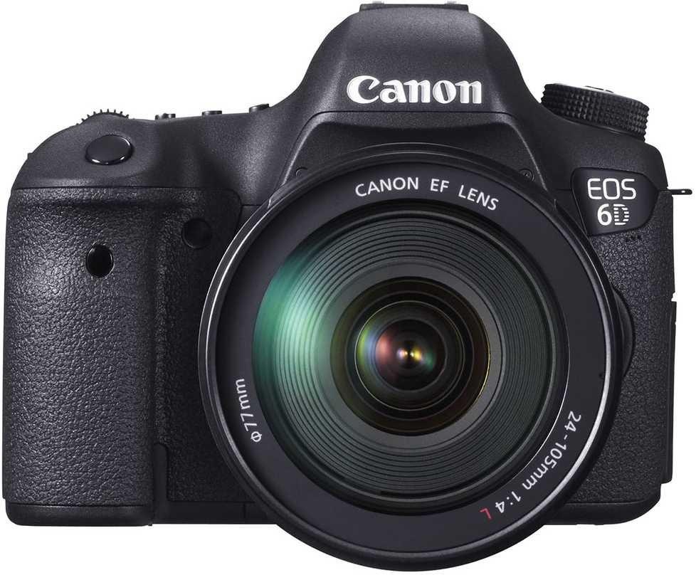 Canon EOS 6D EF kit 24-105L IS USM - цифровой зеркальный фотоаппарат